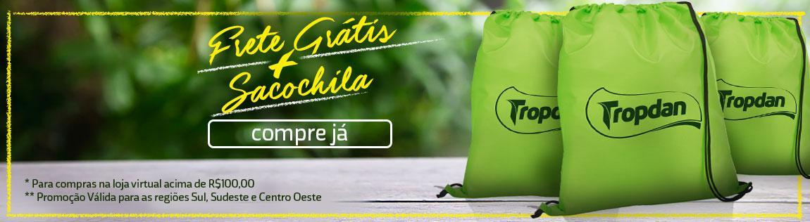 Frete Grátis + Sacochila
