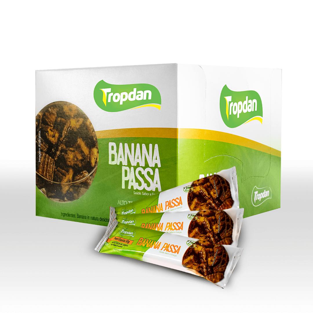 Banana Passa Display com 18 unidades 50g